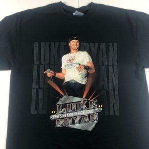 Luke Bryan 2014 Tour T-Shirt Country Music Band